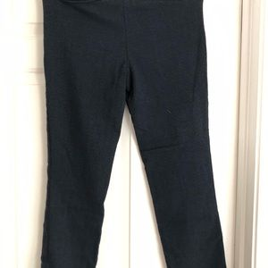Hillary Radley beautiful Safire blue ponte pant